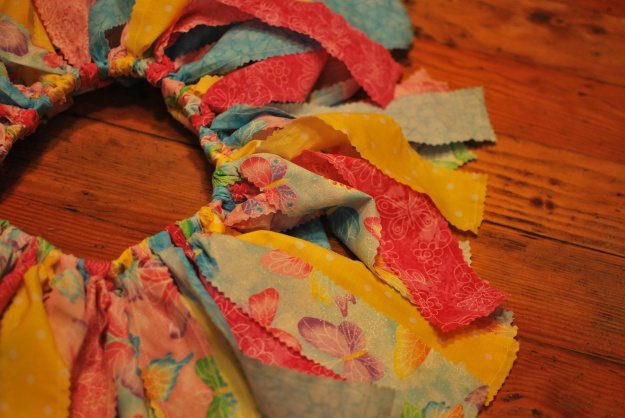 Little A's fabric tutu!
