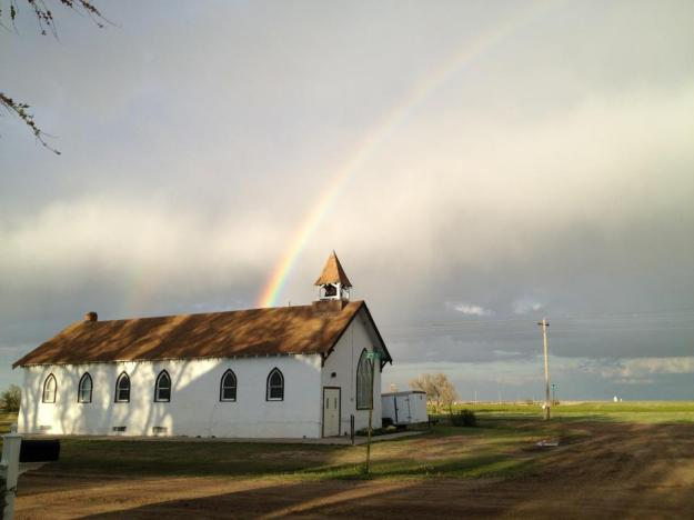 Church_with_rainbow