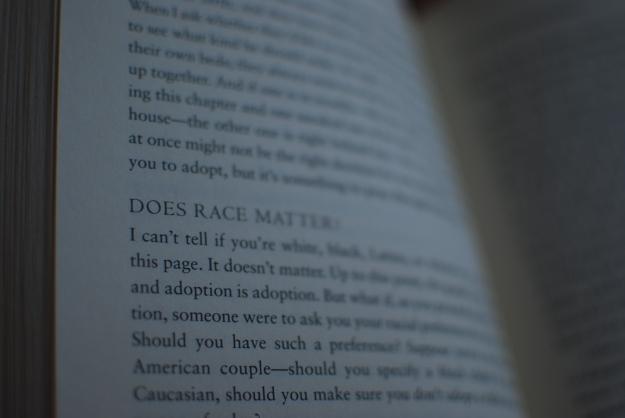 Does race matter?