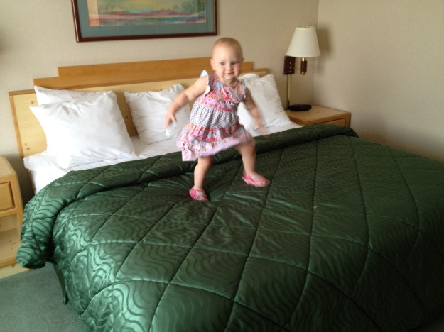 """Hotels are fun, Daddy!"""